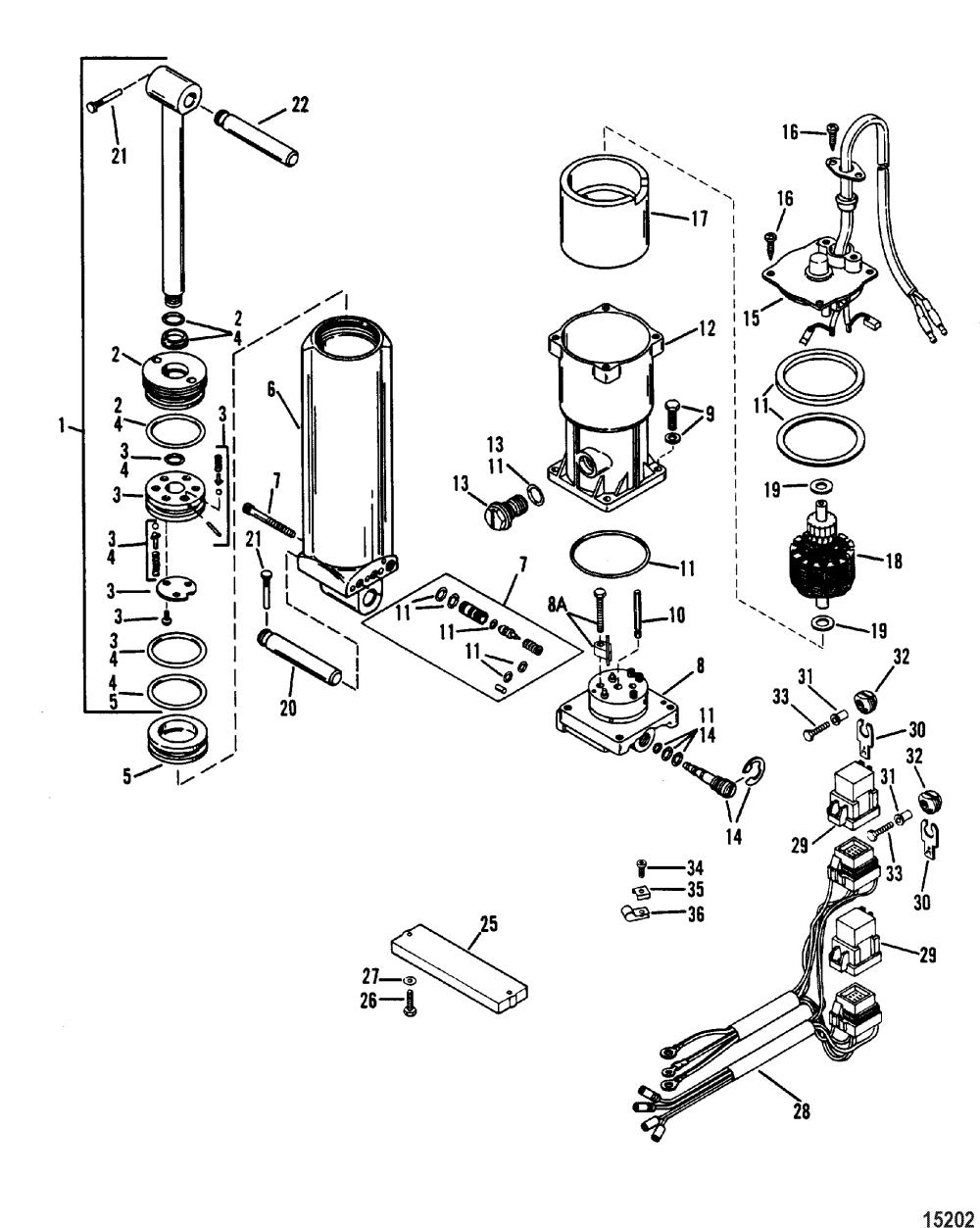 medium resolution of mercury 115 hydraulic trim wiring wiring diagram show mercury power trim pump diagram mercury 115 hydraulic