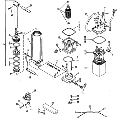 Mercury Outboard Power Trim Wiring Diagram 5 Pin Relay Connection Components Single Ram 0d252461 And Up For