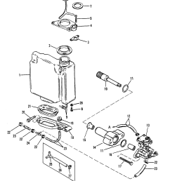 oil injection components for mariner mercury sea ray 100 115 diagram of 1990 mercury marine sea ray 9100412wd electrical components [ 1958 x 2373 Pixel ]