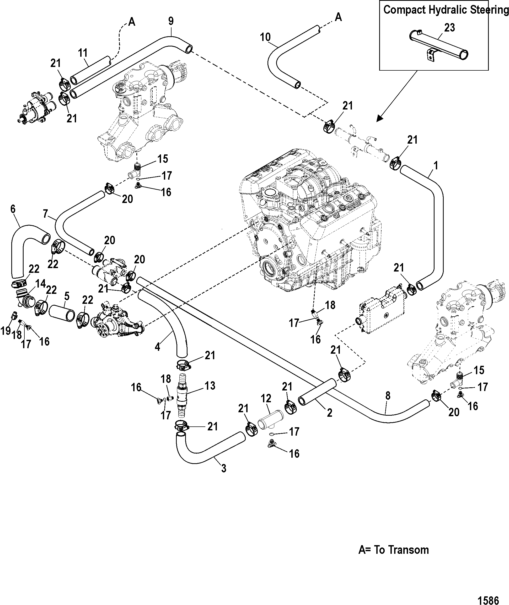 4 3l Mercruiser Cooling System Diagram