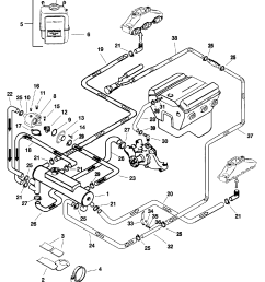 closed cooling system for mercruiser 4 3l efi alpha bravo 2008 mini cooper coolant diagram mini [ 1925 x 2381 Pixel ]