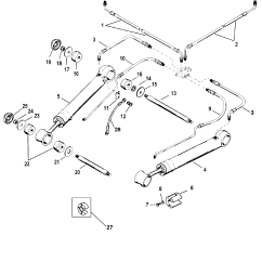 Bravo 1 Outdrive Parts Diagram 2006 Cobalt Alternator Wiring Trim Cylinders And Hydraulic Hoses For Mercruiser I
