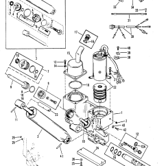 1979 Mercury 150 Hp Outboard Wiring Diagram 1972 Honda Cb350 Power Trim Components For Mariner 90 115 H P Inline