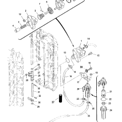 Mercury 115 Wiring Diagram Leviton 220v Receptacle Fuel Pump Serial Number 0t409000 And Up For Mariner