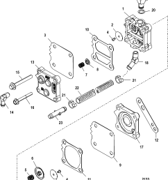 fuel pump for mercury 200 optimax v6 dfi zoom [ 1917 x 2251 Pixel ]