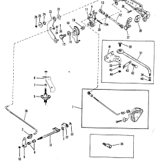 Mercury Quicksilver Throttle Control Diagram 2005 Toyota Corolla Stereo Wiring And Shift Linkage Electric Manual Remote