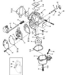 carburetor seapro marathon 15 25 super 15 for mariner mariner 25 hp outboard wiring diagram mariner [ 1809 x 2352 Pixel ]