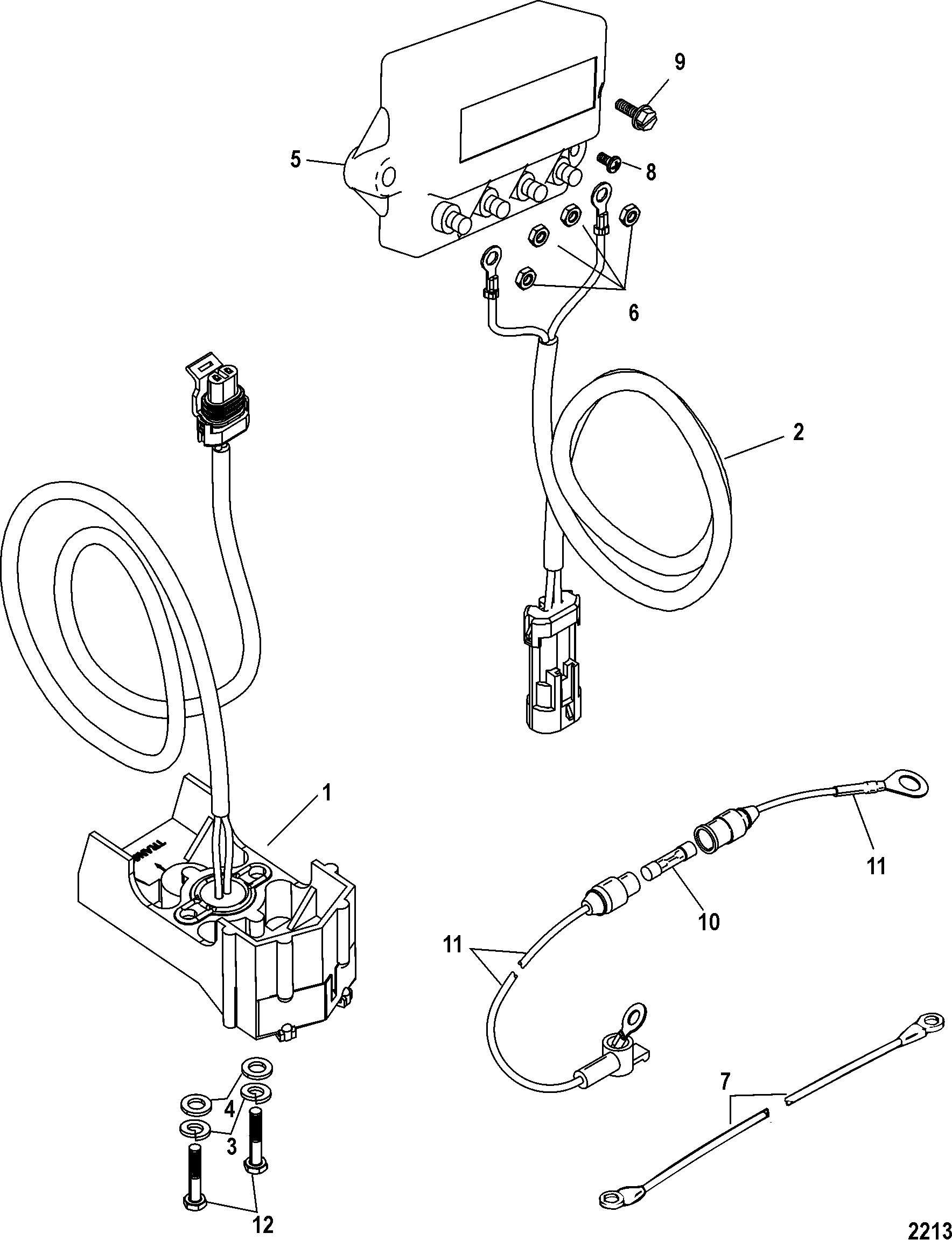 Mercathode Kit For Mercruiser Bravo I Ii Iii