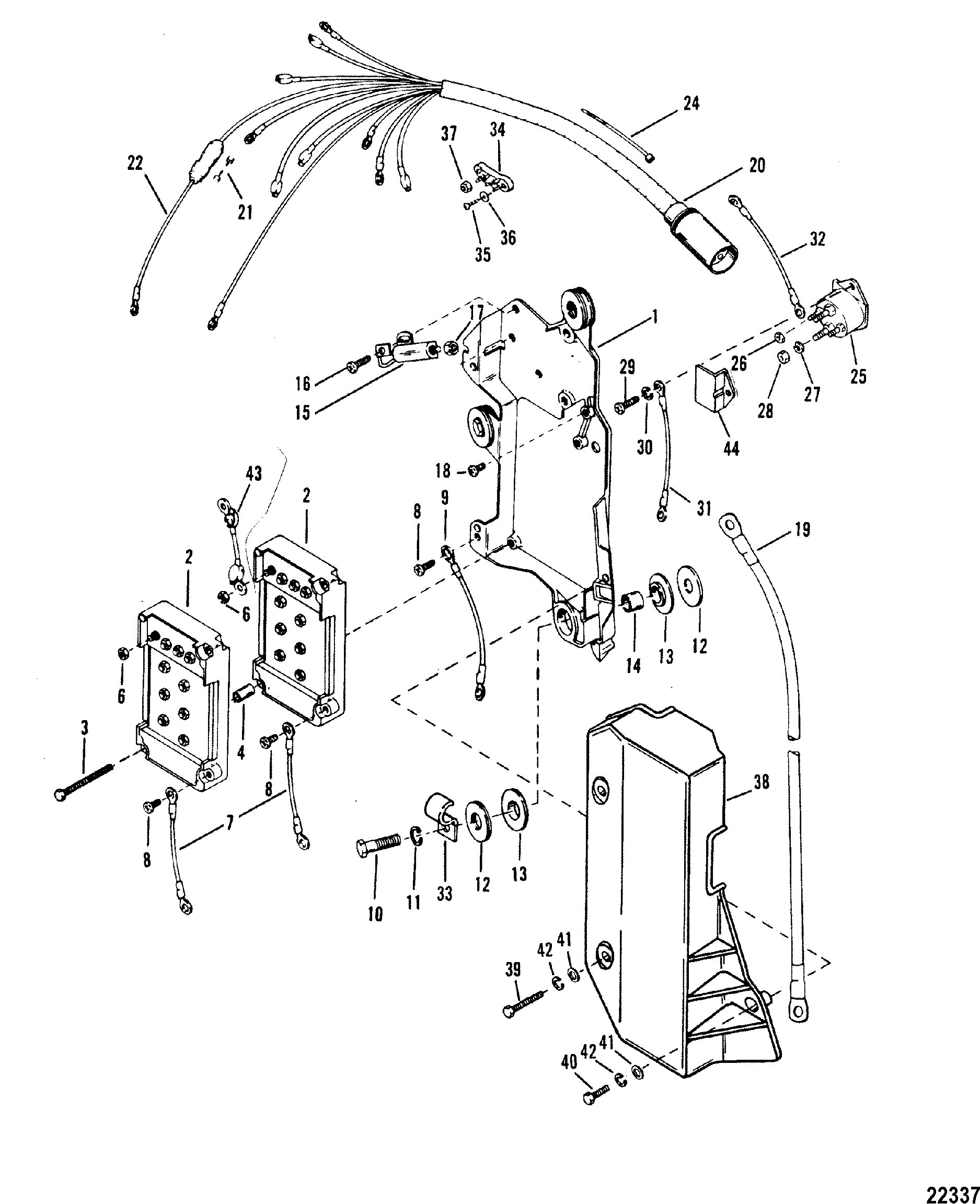 Mercury Optimax Motor Diagram