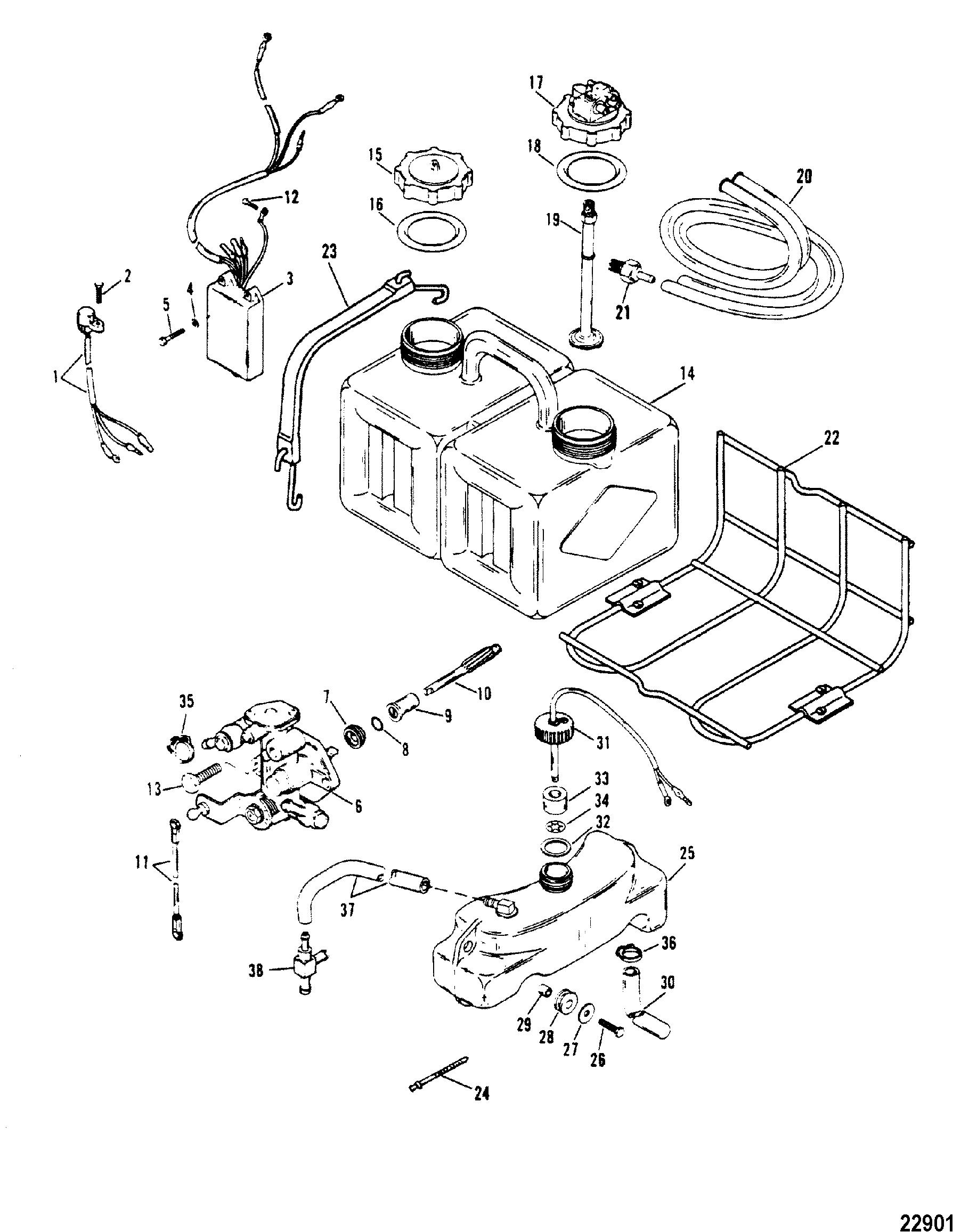 [WRG-5951] Mercury Xr6 Outboard Wiring Diagram