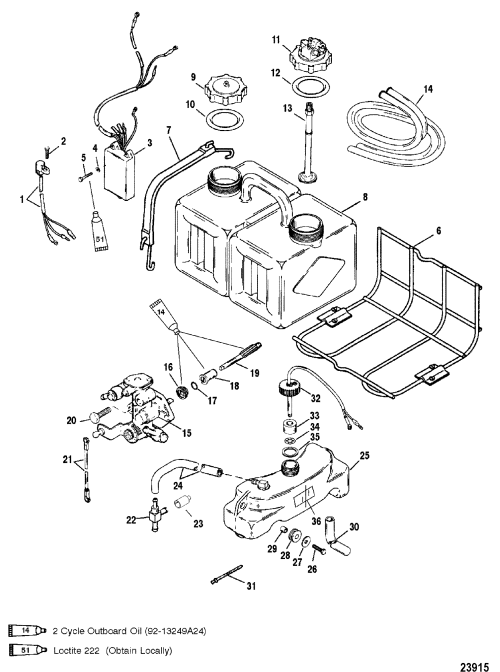 small resolution of oil injection components for mariner mercury 135 150 175 1997 mercury outboard wiring diagram mercury outboard
