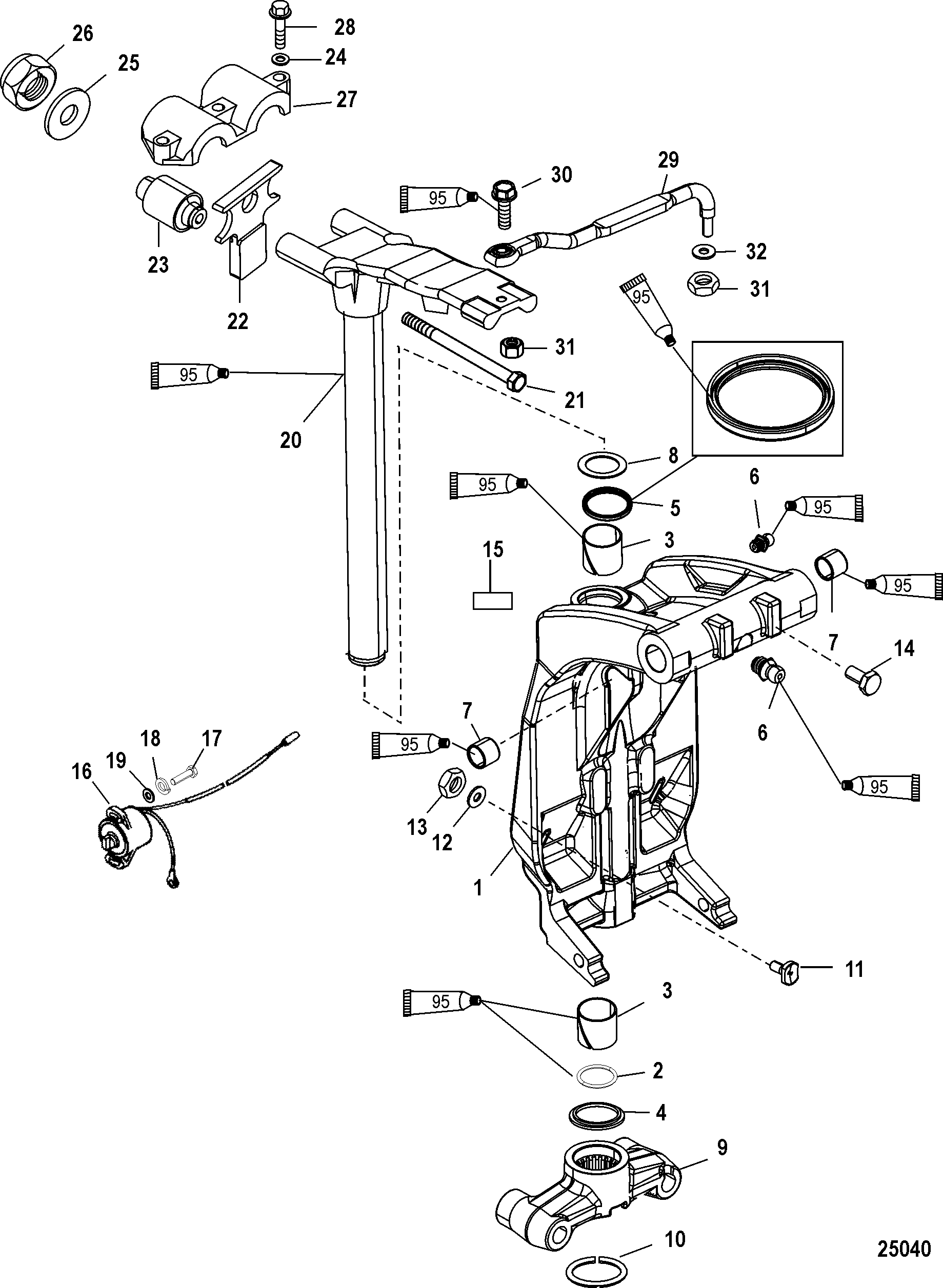Wiring Diagram For Mercury Outboard Gauges