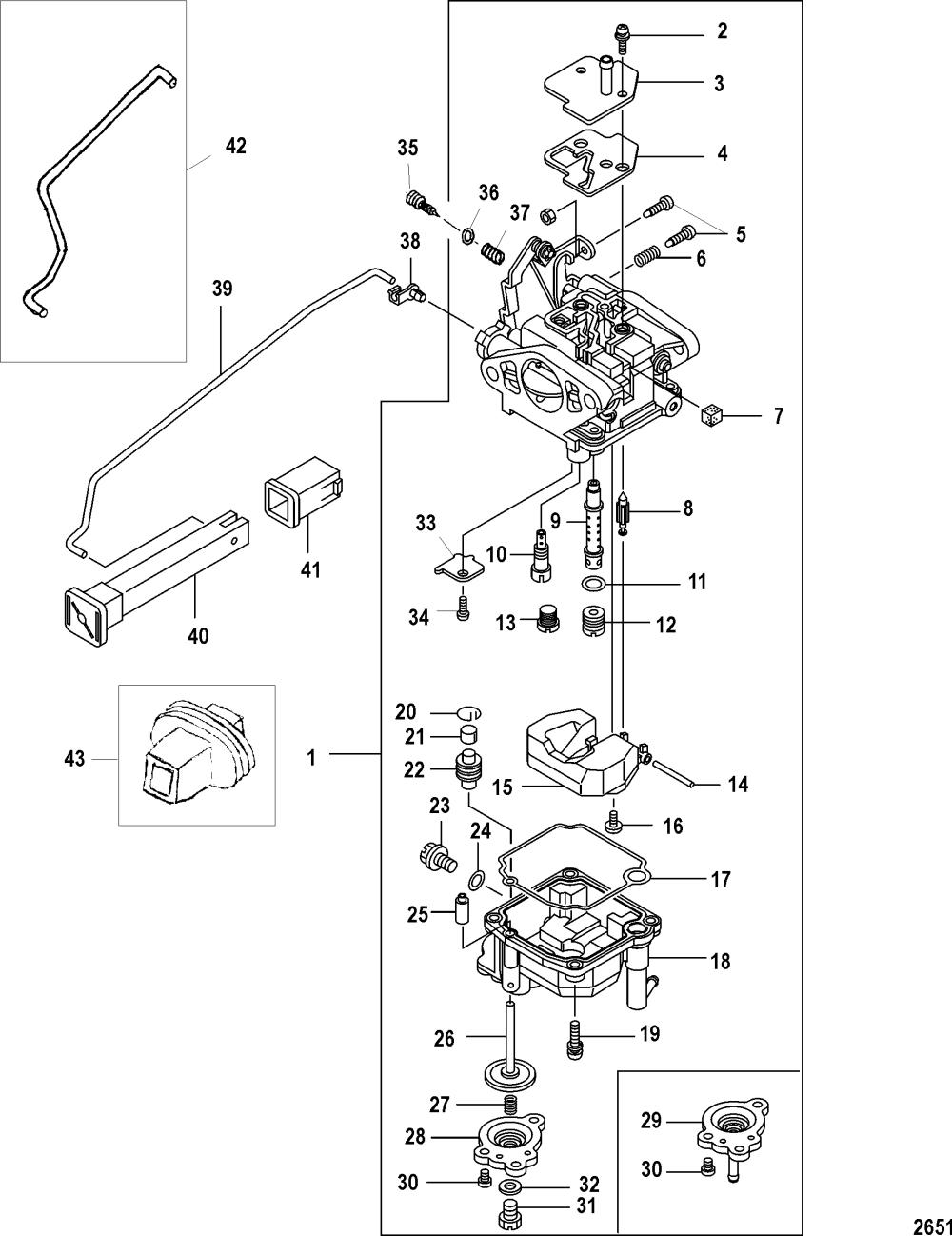 medium resolution of 9 8 mercury outboard parts diagram enthusiast wiring diagrams u2022 mercury 110 9 8 hp parts