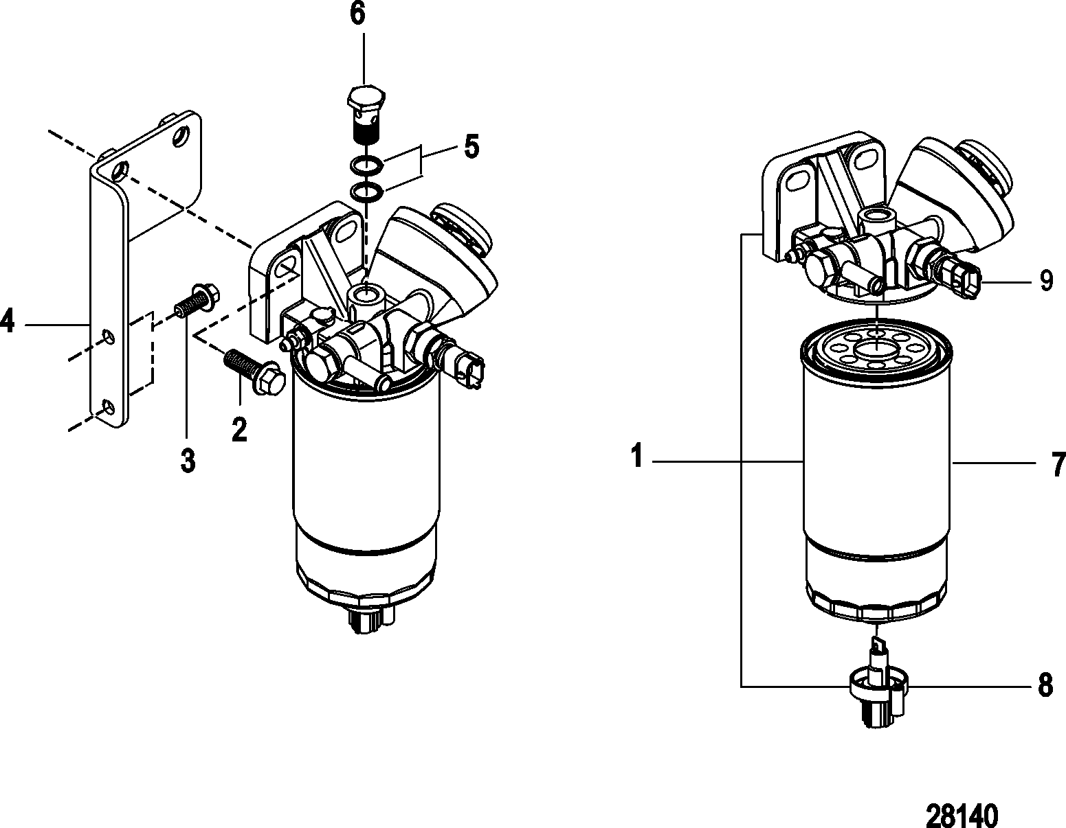 Sel Fuel Filter Embly. Sel. Free Printable Wiring Diagrams