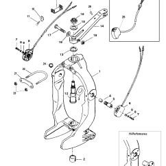 Alpha 1 Gen 2 Parts Diagram 1967 Vw Beetle Wiring Gimbal Ring And Steering Lever For Mercruiser Bravo I Ii