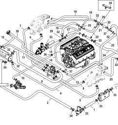 3 1l engine cooling system diagram [ 1955 x 1767 Pixel ]