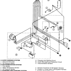Mercruiser Wiring Diagram 5 0 L14 30p 4 3 Starter Solenoid
