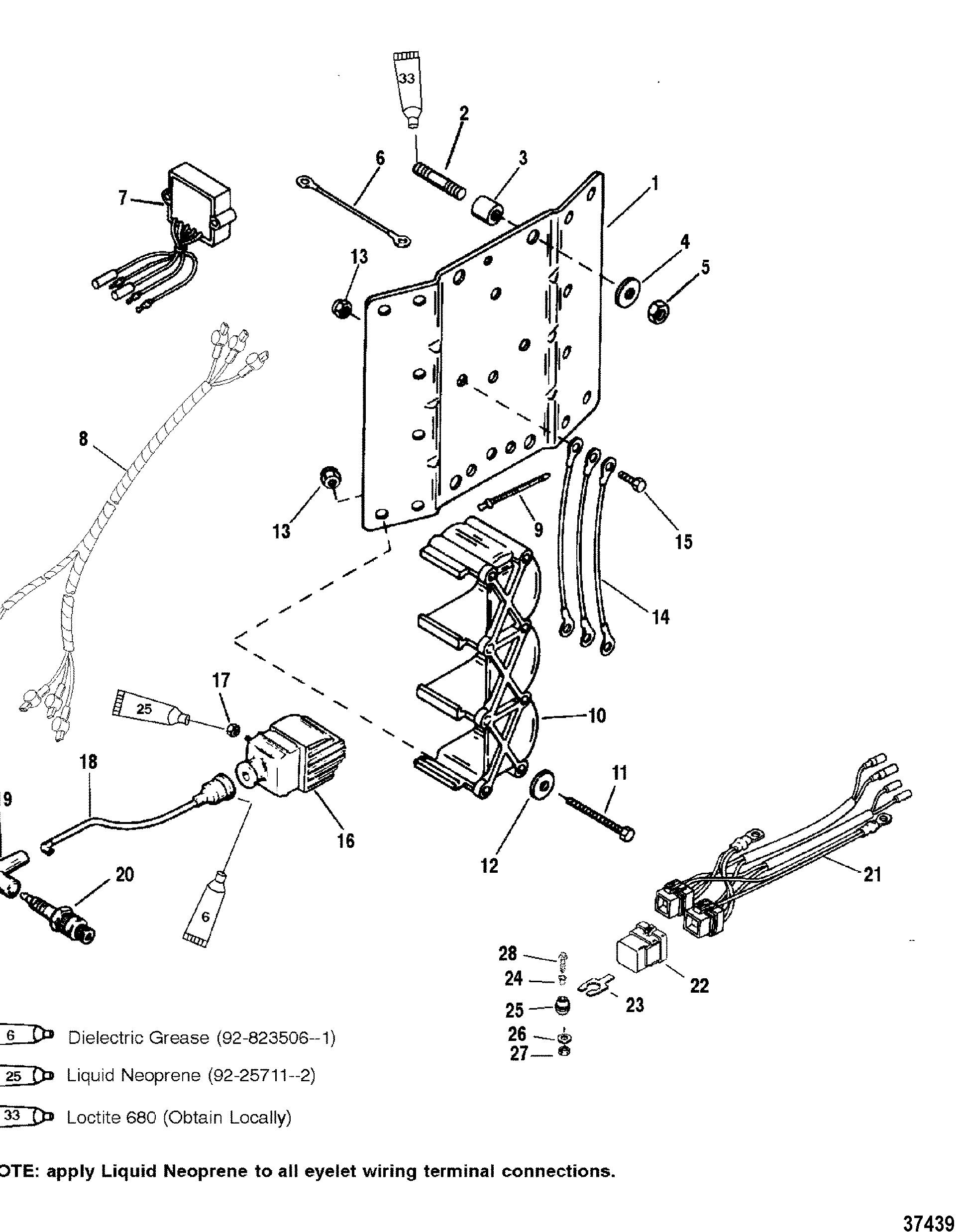 Ignition Coil Voltage Regulator For Mariner Mercury 150