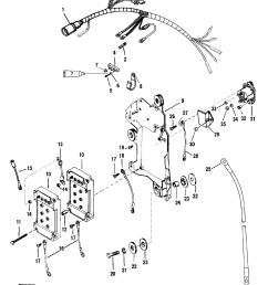 wiring harness starter solenoid for mariner mercury 150 175 200 efi zoom [ 1958 x 2482 Pixel ]
