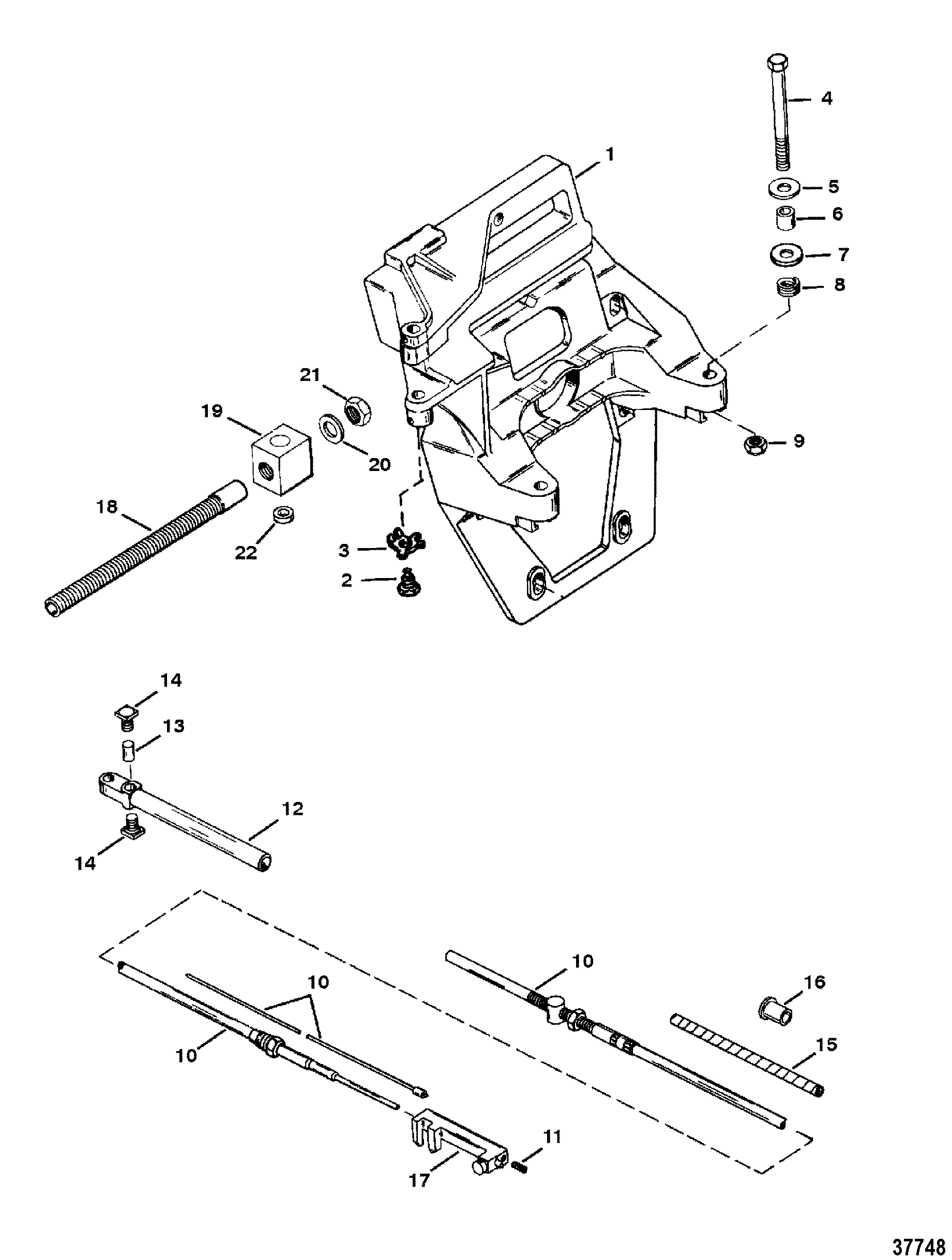 alpha 1 gen 2 parts diagram steam table and mollier pdf transom plate shift cable for mercruiser one