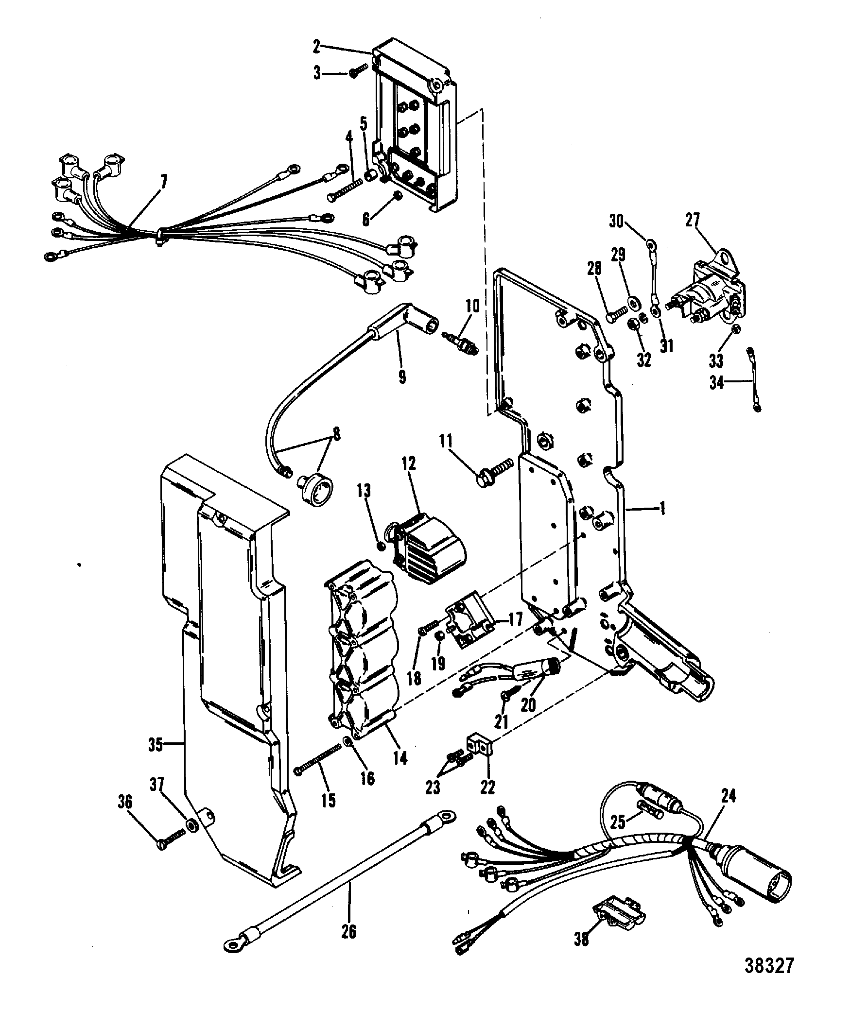 [WRG-8228] Mercury 80 Hp Outboard Wiring Diagram