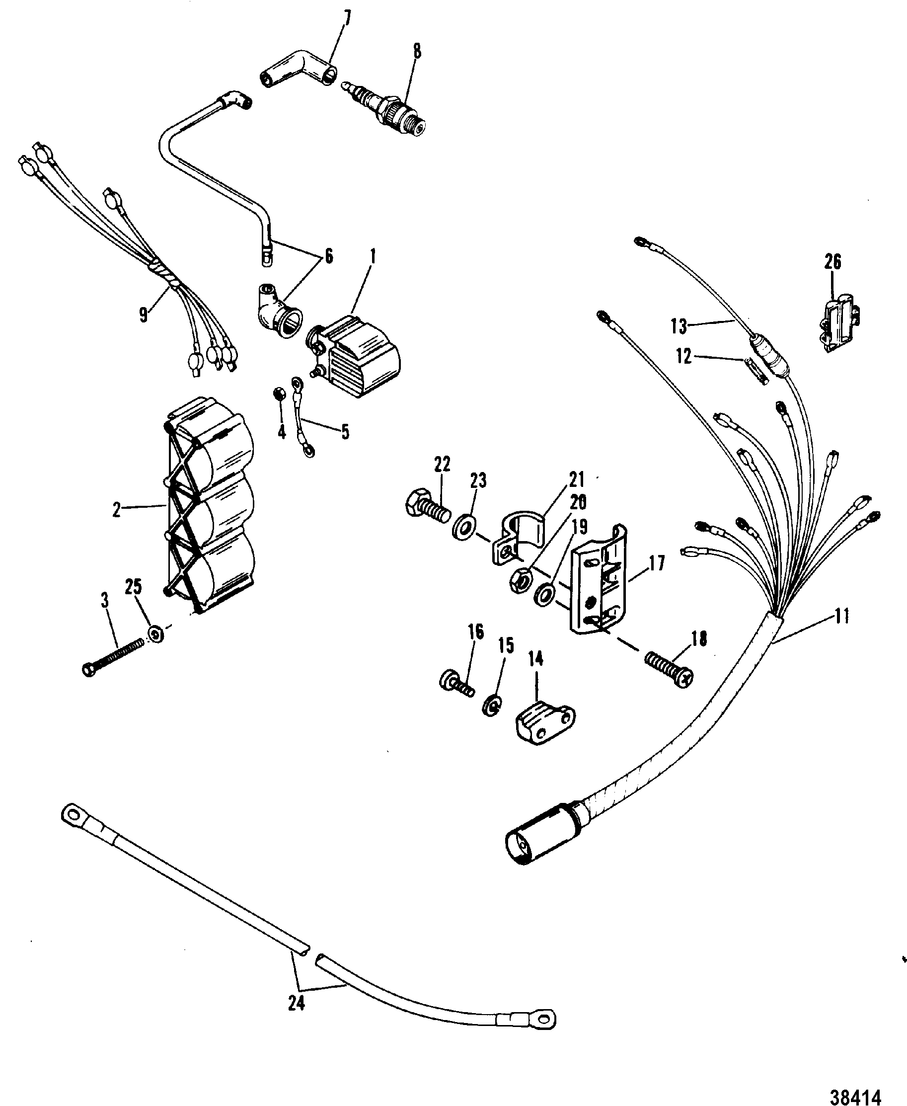 1979 Mercury Outboard Internal Wiring Harness Diagram Auto