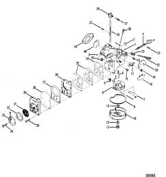 mercury carburetor diagram schematic wiring diagrams mercury 25 outboard 25 hp mercury carb diagram [ 1844 x 1917 Pixel ]