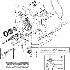 Alpha One Sterndrive Parts Diagram Zachman Framework Gimbal Housing For Mercruiser Bravo I Ii Iii