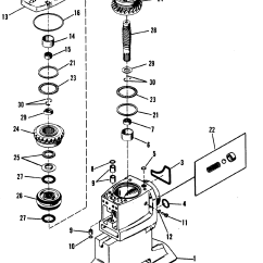 Alpha One Sterndrive Parts Diagram Open Source Wiring Driveshaft Housing And Drive Gears For Mercruiser Bravo I