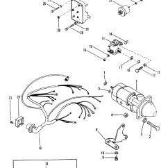 Mercruiser Wiring Diagram 4 3 Redarc Dual Battery Isolator Starter Motor And Harness For 165 Hp