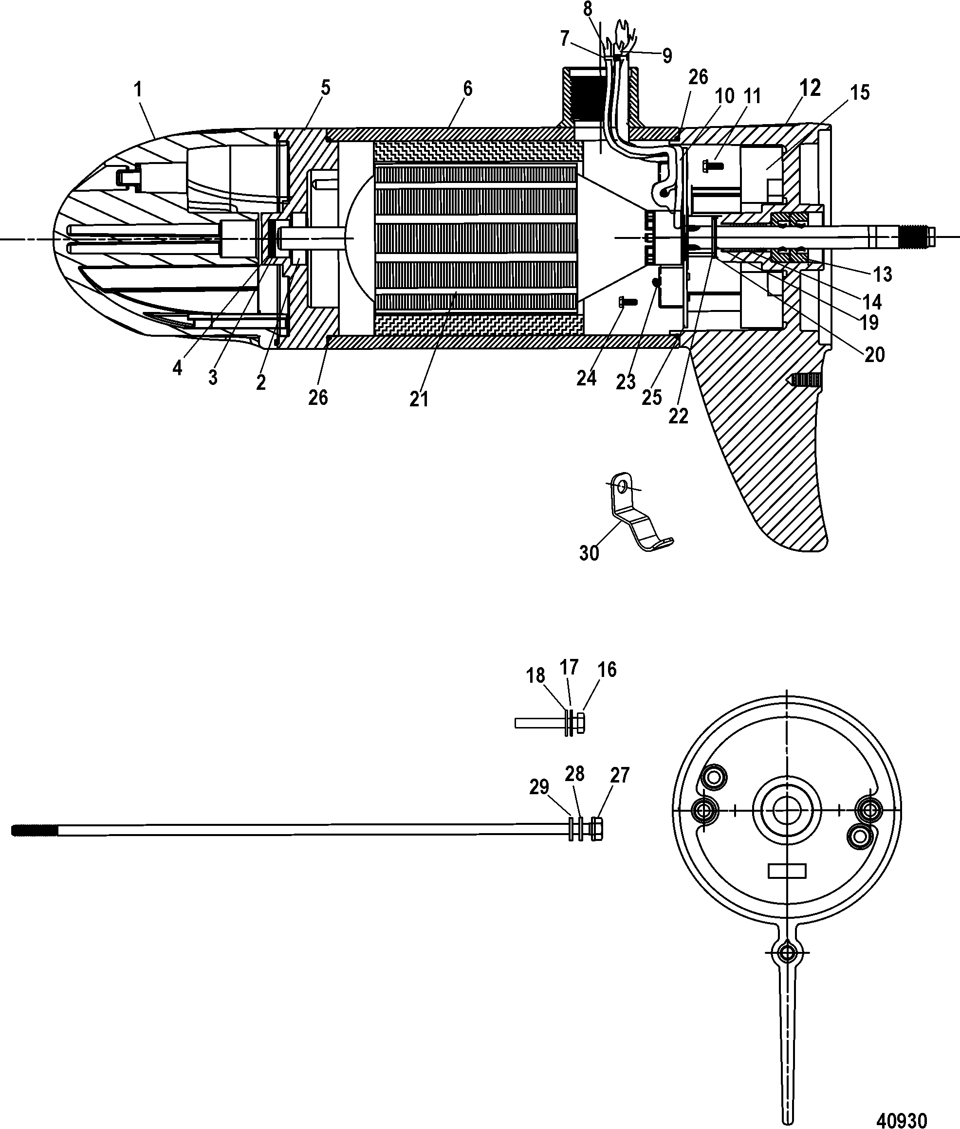 Lower Unit Assembly 82