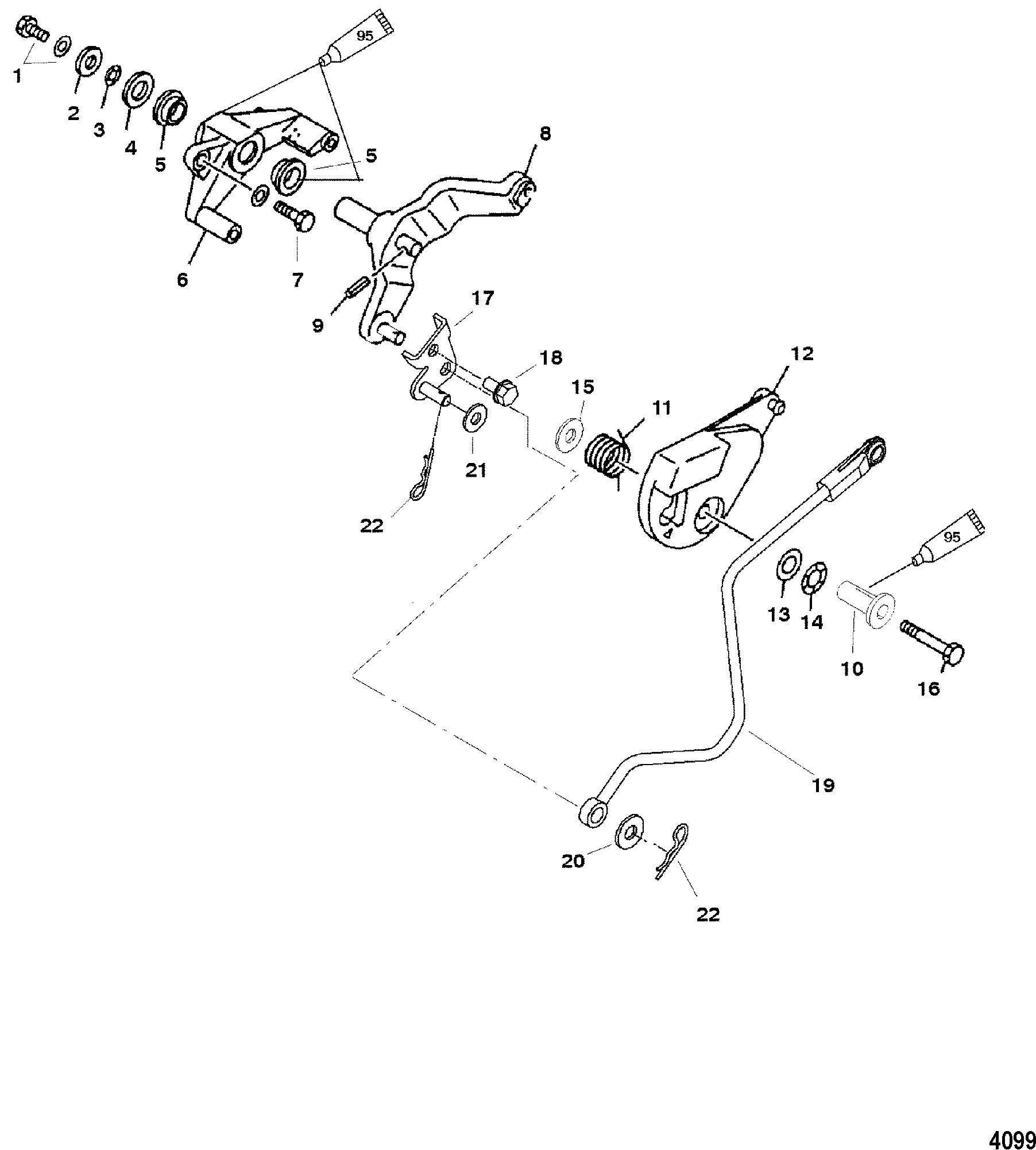 Edelbrock Carburetor Linkage Diagram, Edelbrock, Free