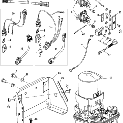 Mercruiser Trim Pump Wiring Diagram For Blower Motor Resistor Assembly Complete 496 Mag Sterndrive
