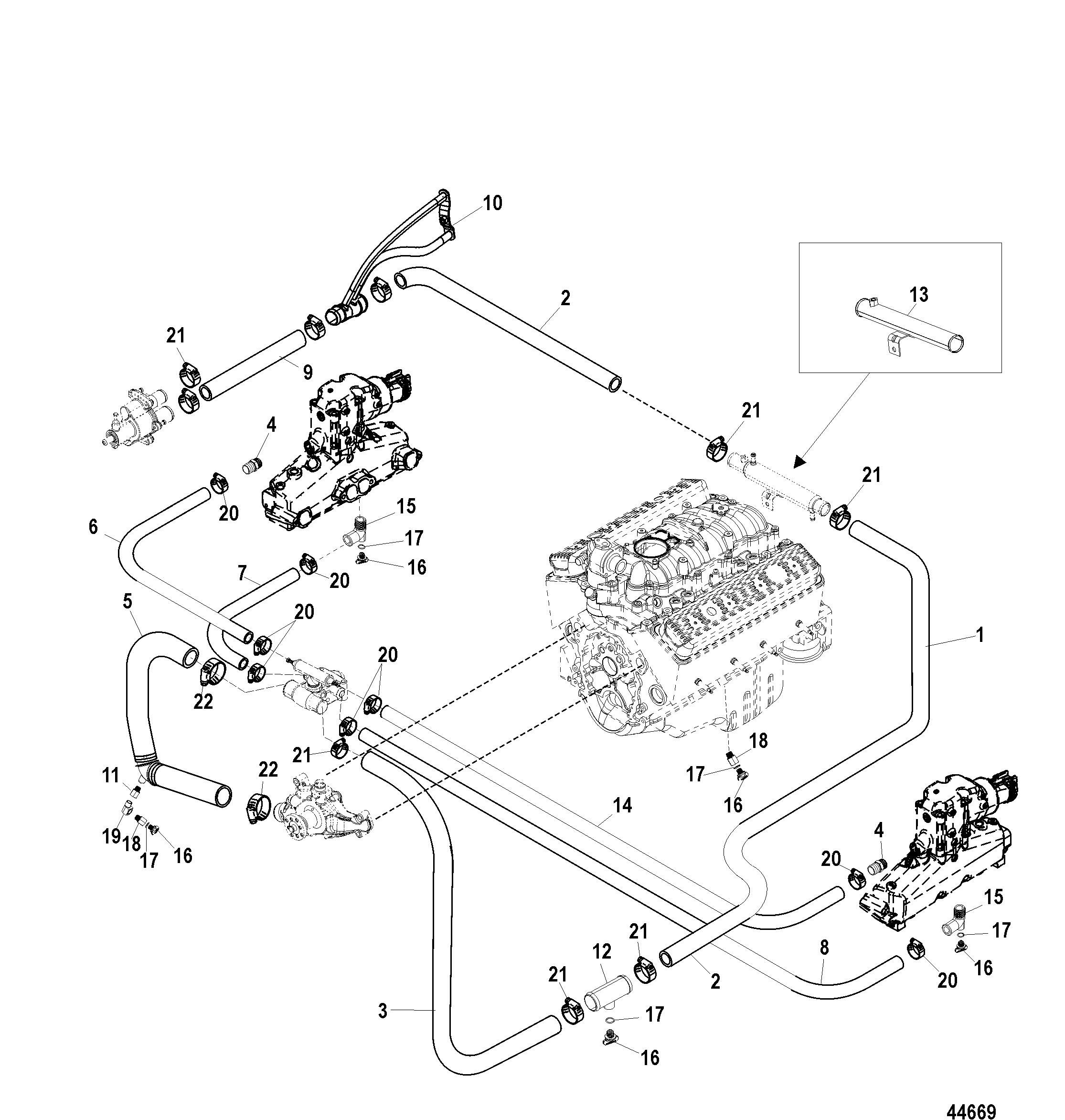 3 0 Mercruiser Cooling Diagram