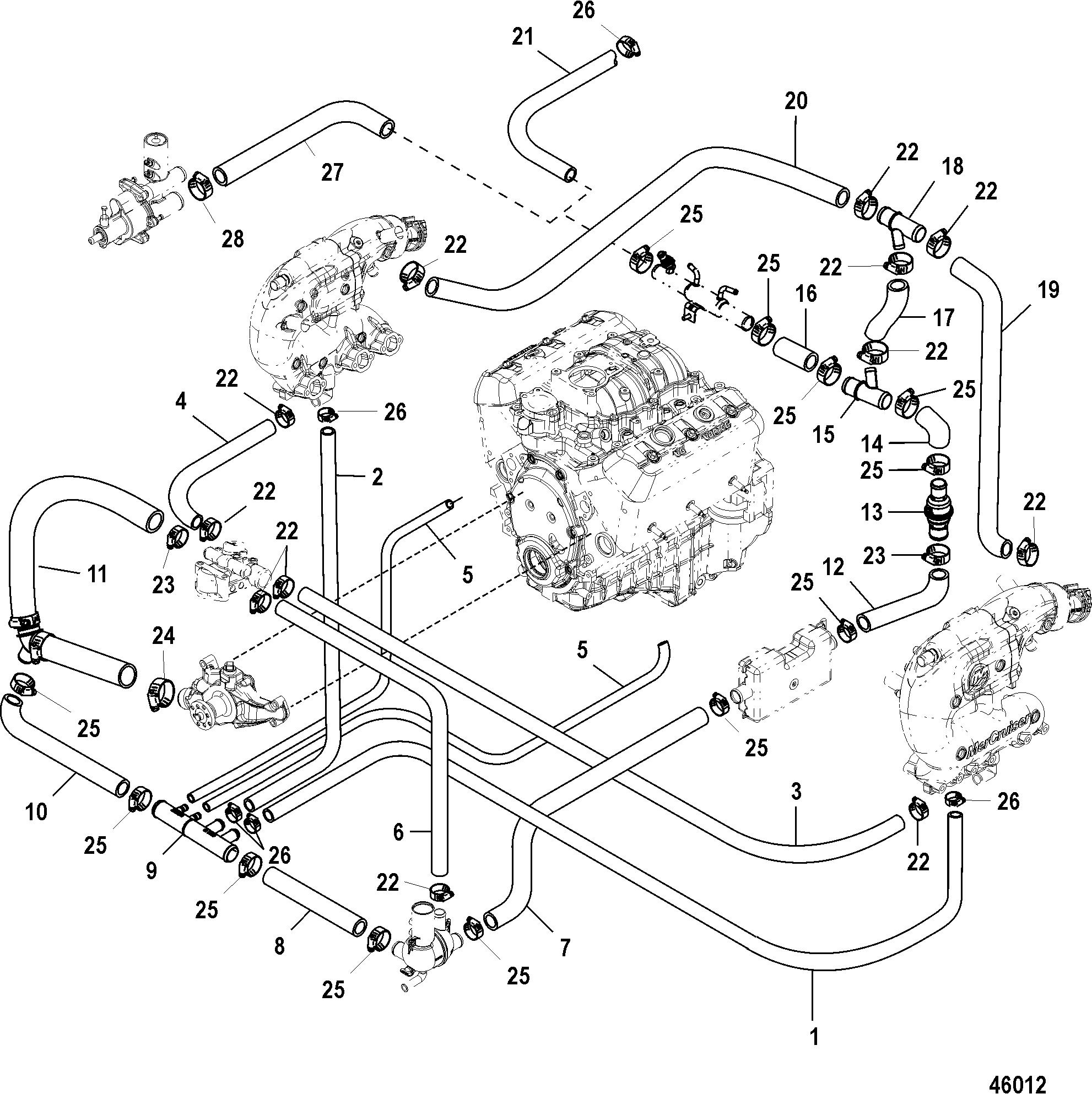 Standard Cooling, Alpha Single Pt With Handle / Bravo 3 Pt