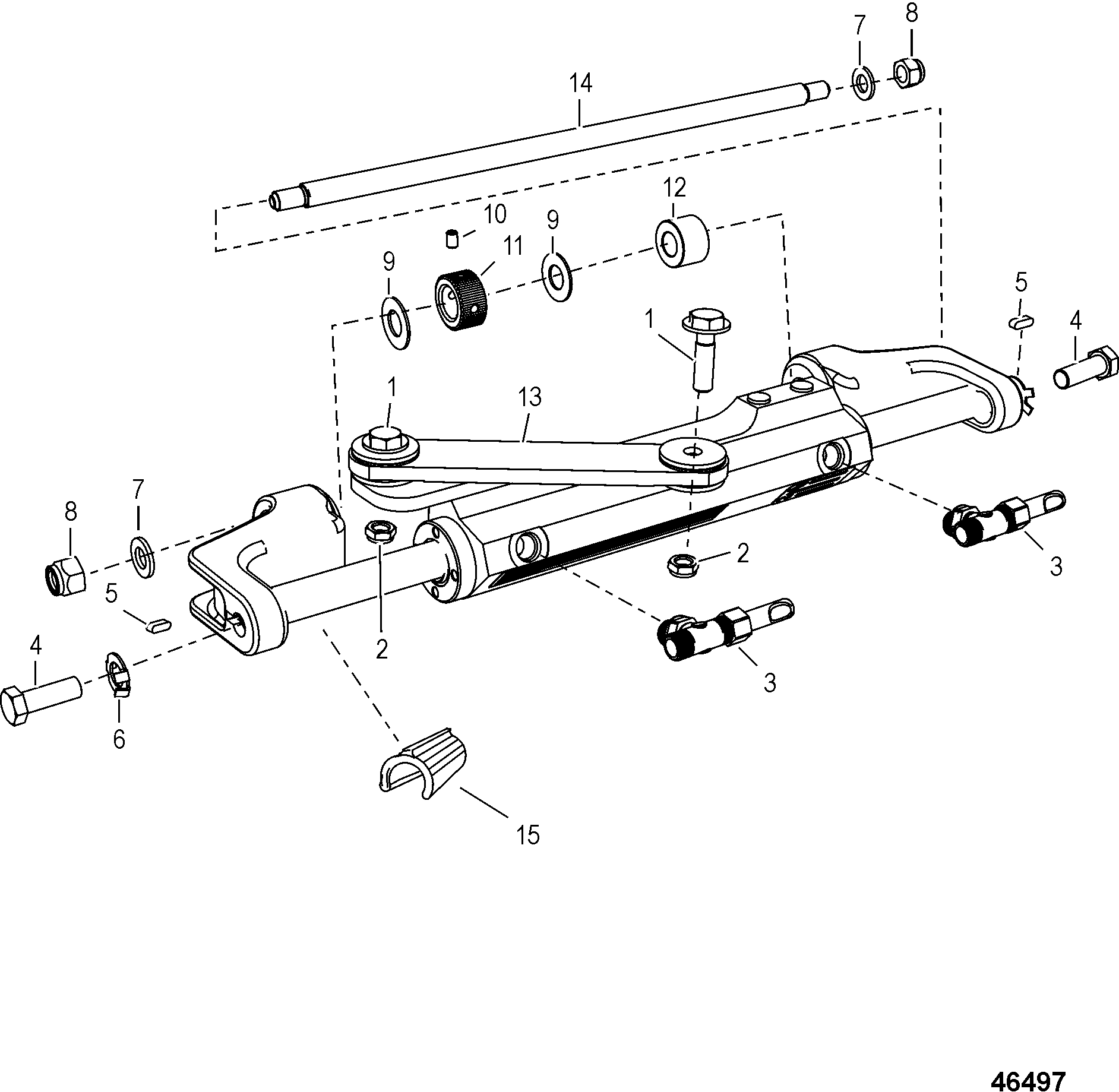 Steering Actuator Assembly 8m For Steering Systems