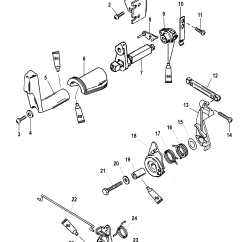 25 Hp Johnson Outboard Parts Diagram Modine Pd 75 Wiring Mercury Throttle Cable