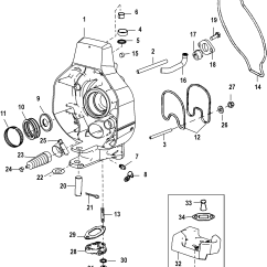 Alpha 1 Gen 2 Parts Diagram Engine Wiring Gimbal Housing For Mercruiser One Ii Sterndrive