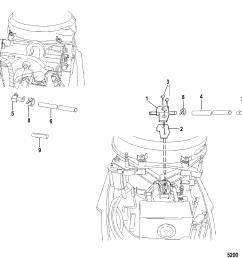 heater manifold for mariner mercury 30 40 2 cylinder 2 stroke rh jamestowndistributors com 4 stroke [ 1986 x 1948 Pixel ]