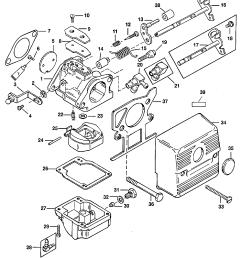 carburetor for mariner mercury 30 40 2 cylinder 2 stroke [ 1978 x 2471 Pixel ]