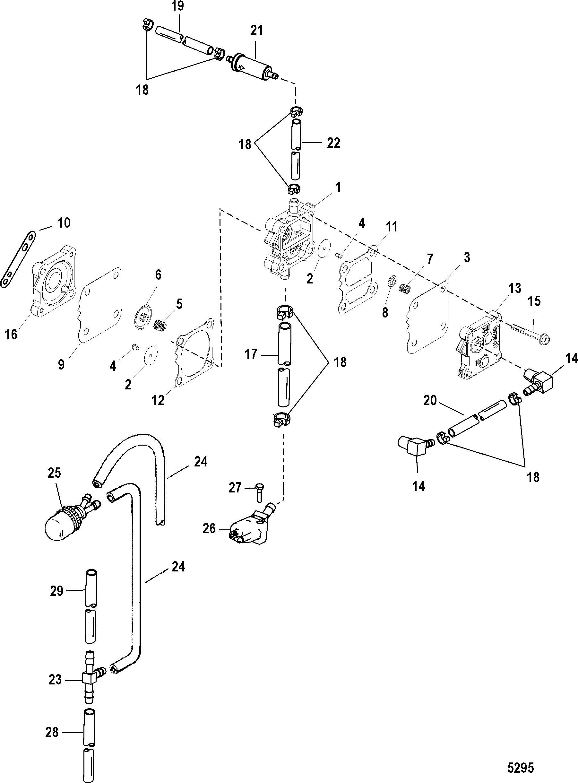 Fuel Pump Manual FOR MARINER / MERCURY 40/50 JET 30 3