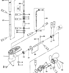 gear housing assembly 2 2 5 horsepower for mariner mercury motherboard wiring diagram [ 1859 x 2383 Pixel ]