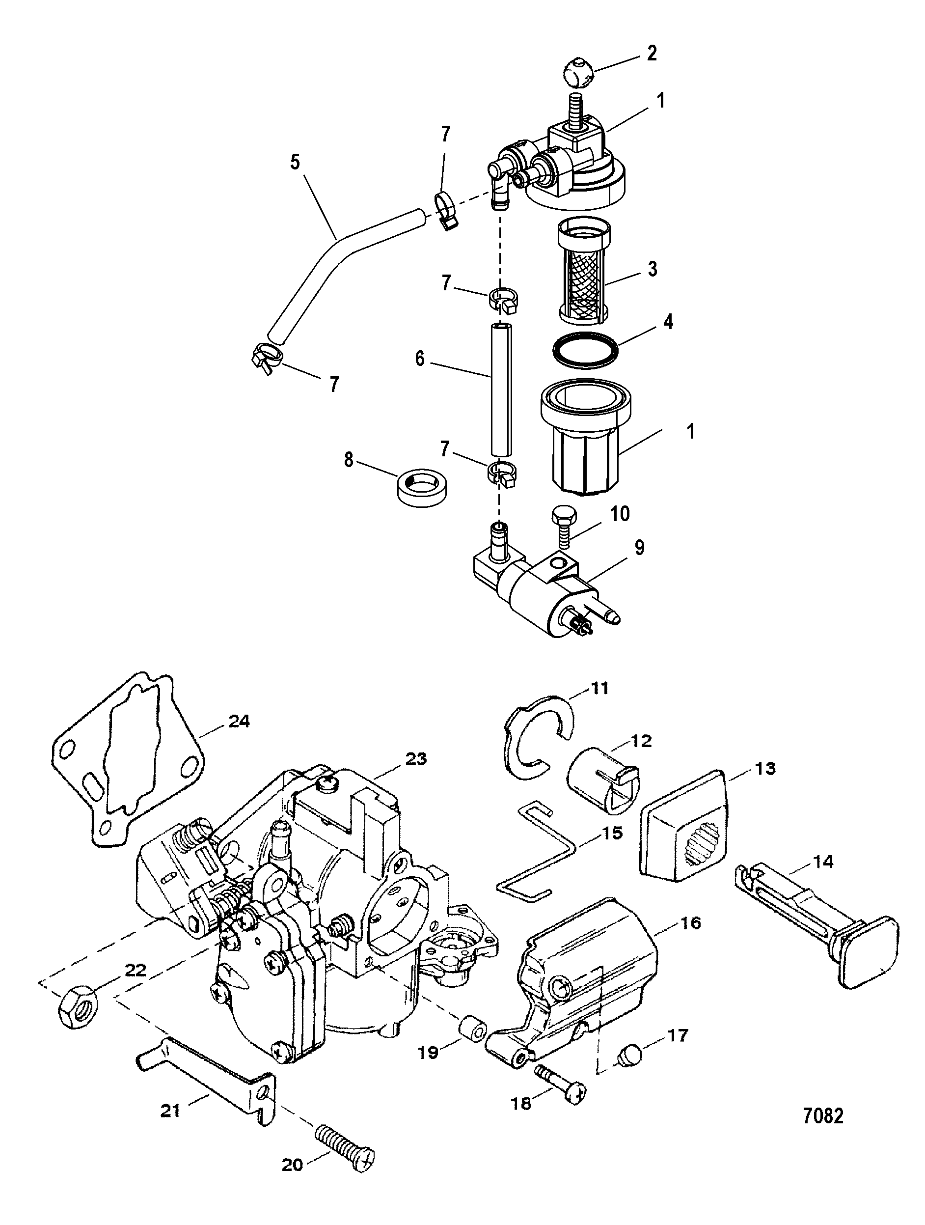 Mercury Outboard Throttle Control Wiring Diagram
