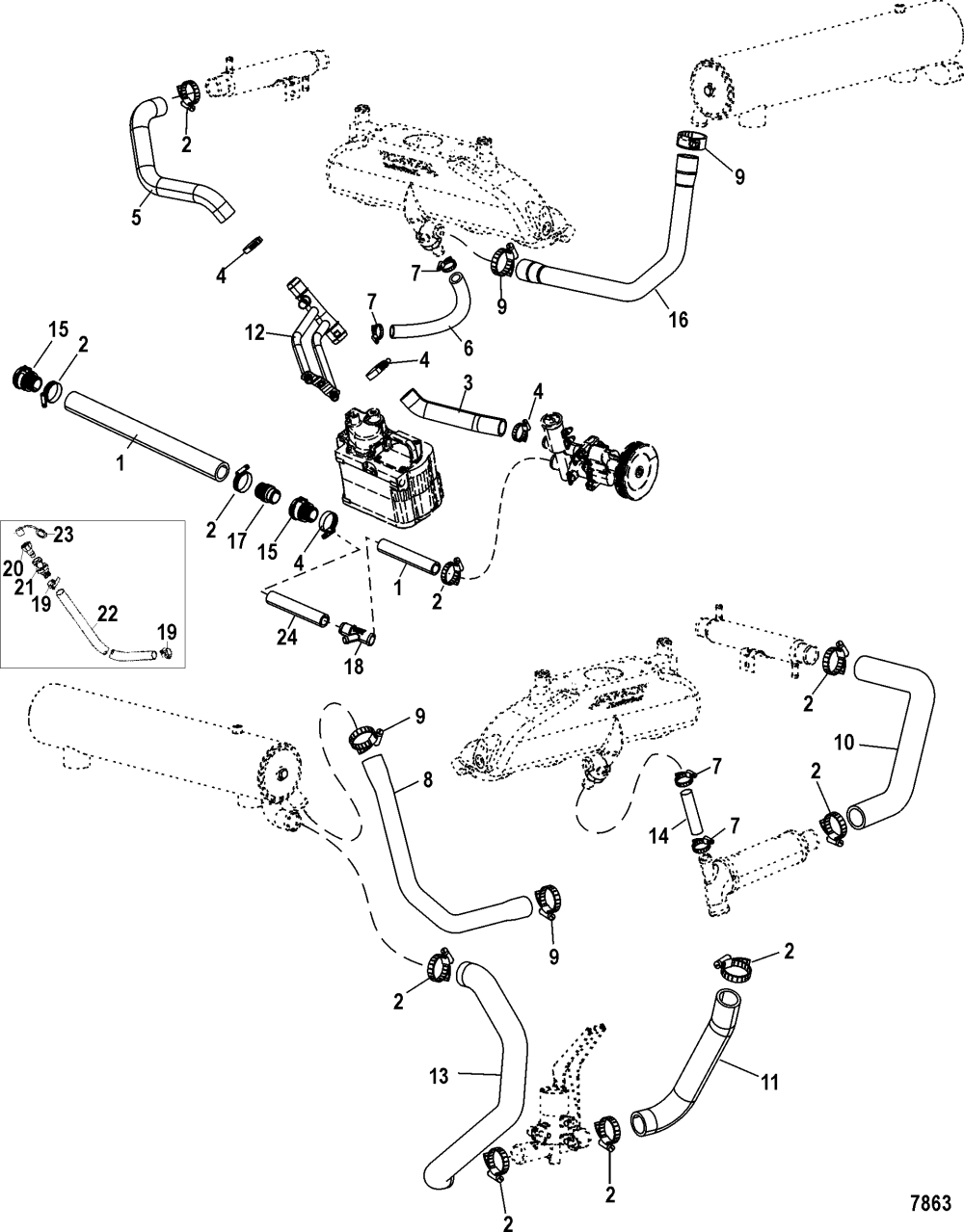 medium resolution of mini cooper coolant diagram