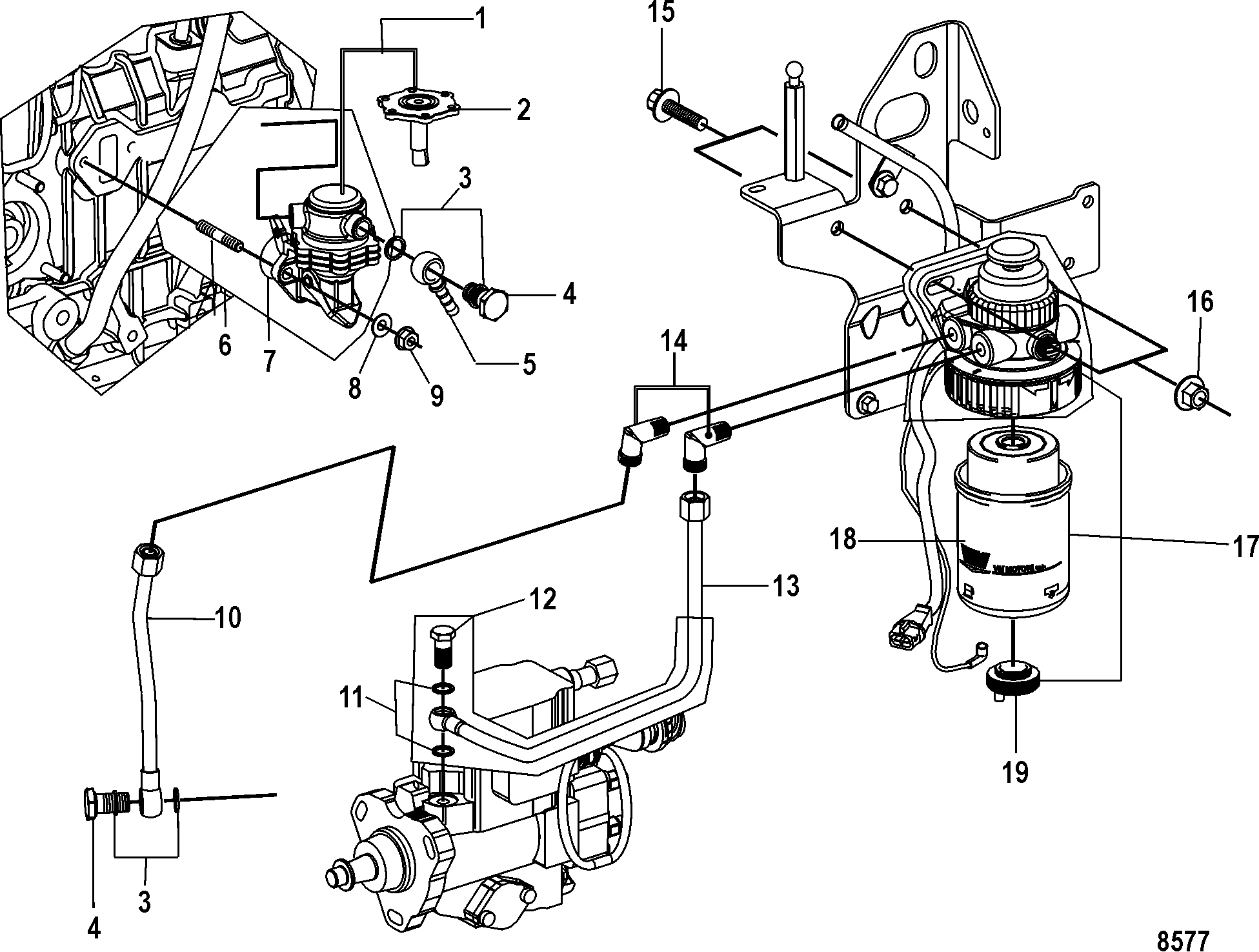7 4 Mercruiser Engine Fuel Diagram, 7, Get Free Image