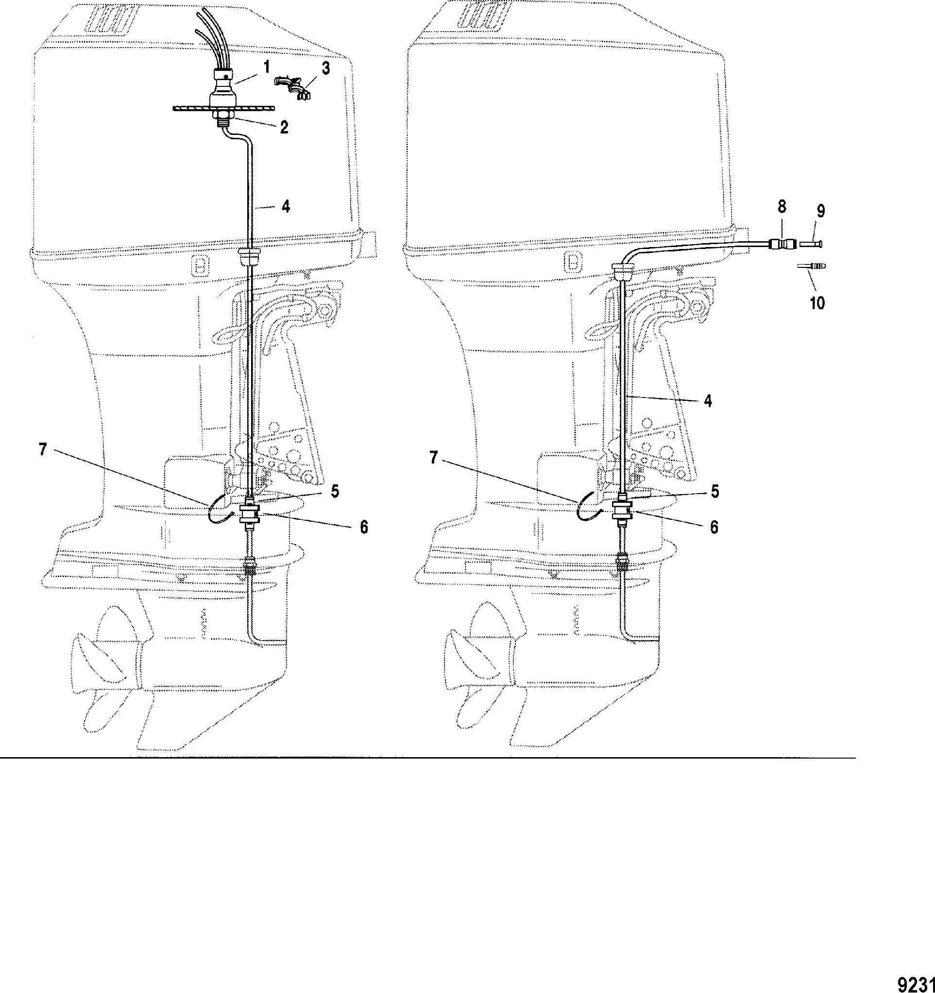 Speedometer Pickup System FOR MARINER / MERCURY 115/135
