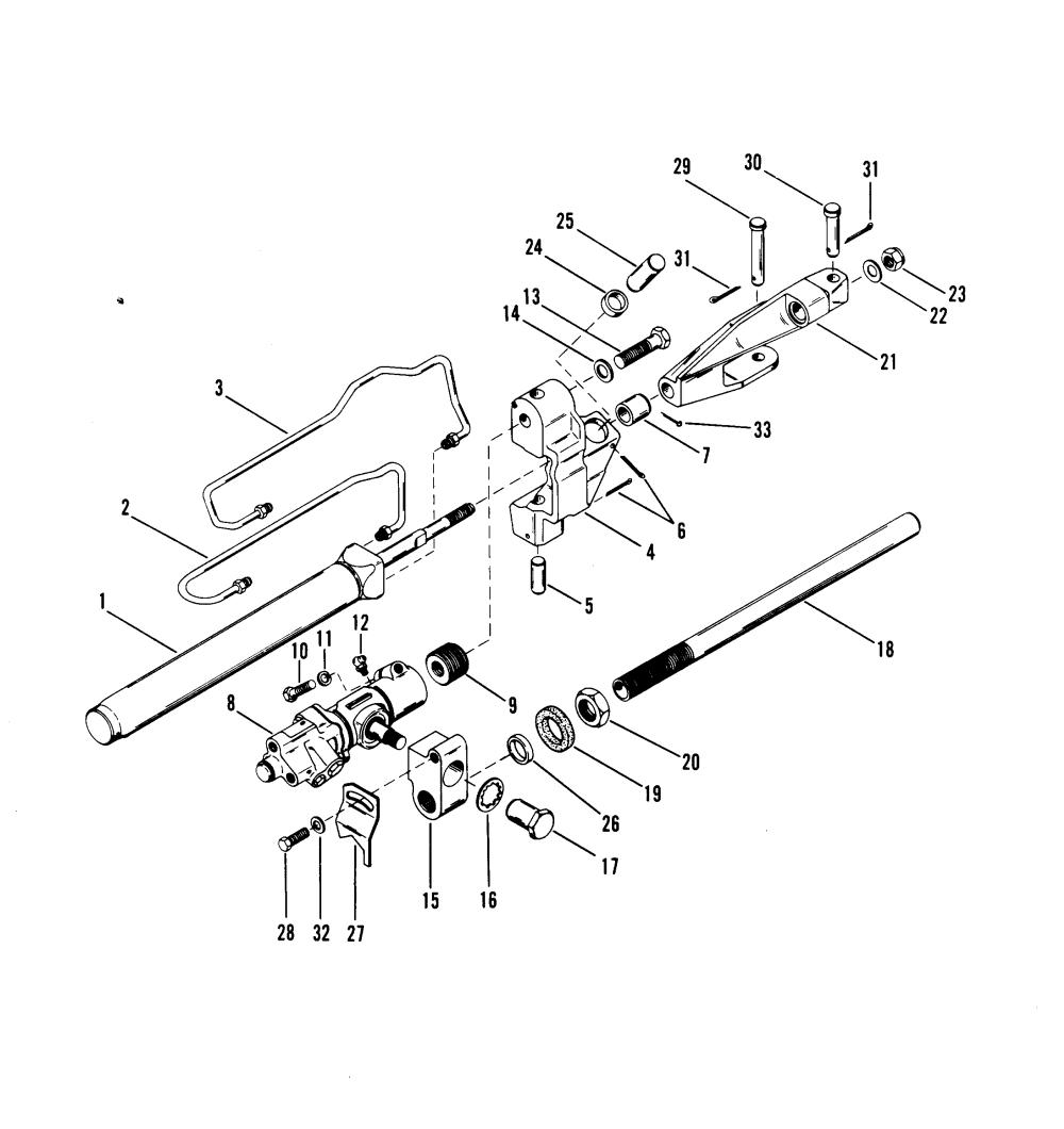 medium resolution of diagram of 1986 mercruiser 32006876 power steering cylinder diagram diagram of 1986 mercruiser 32006876 power steering cylinder diagram