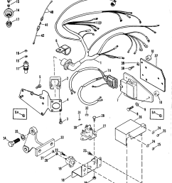 wiring harness electrical and ignition for mercruiser 454 chevy 454 engine major problems 454 engine drawing [ 2160 x 2688 Pixel ]