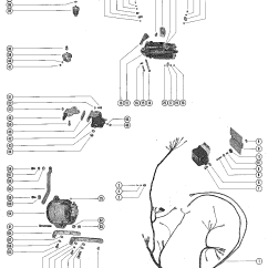 Mercruiser Alternator Wiring Diagram 7 Way Trailer Connector Harness Starter Motor And For 140