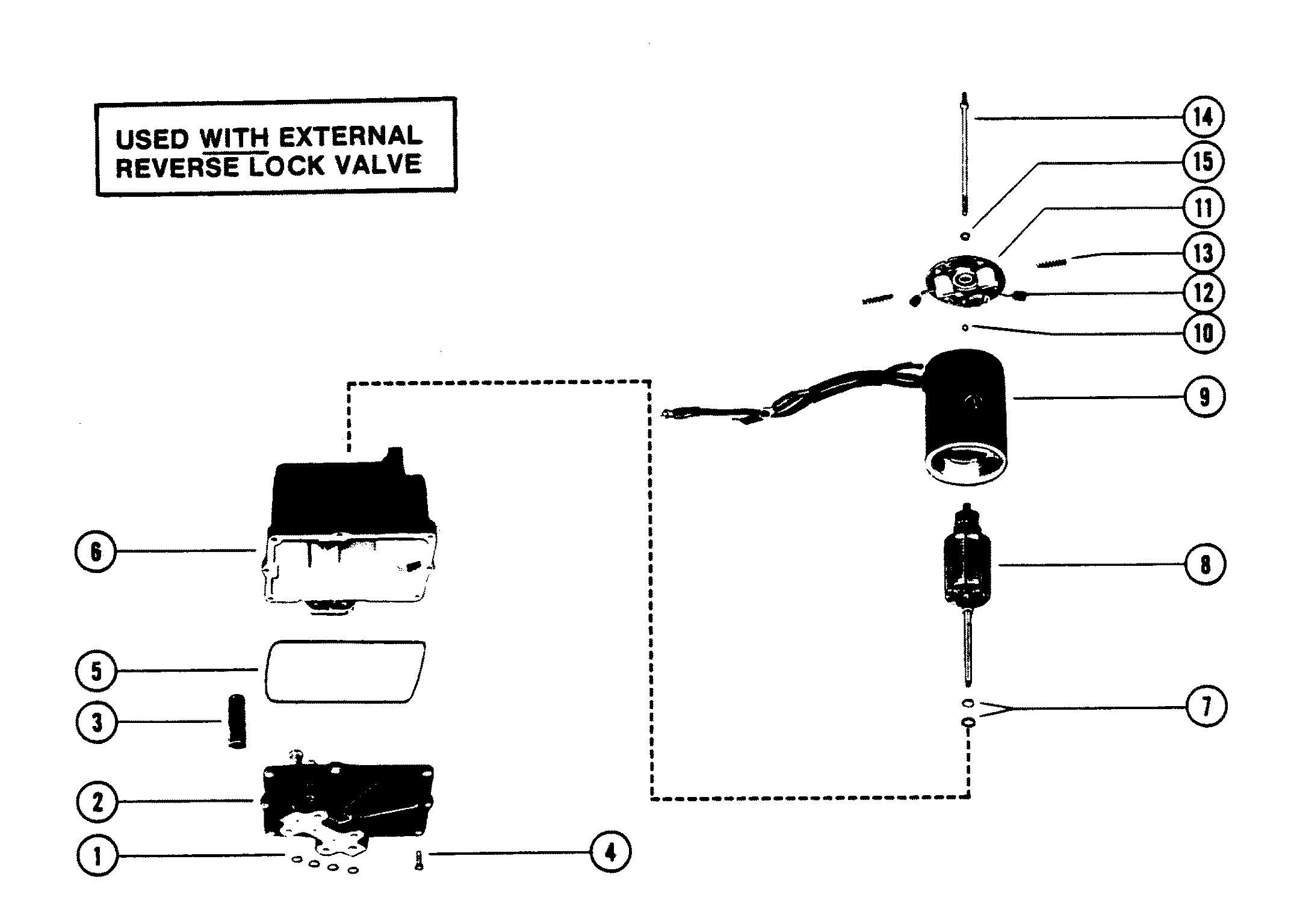 HYDRAULIC PUMP METAL RESERVOIR FOR MERCRUISER / RACE